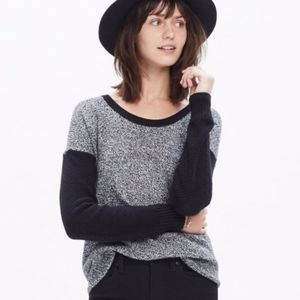Madewell Chronicle Texture Pullover Sweater sz XS
